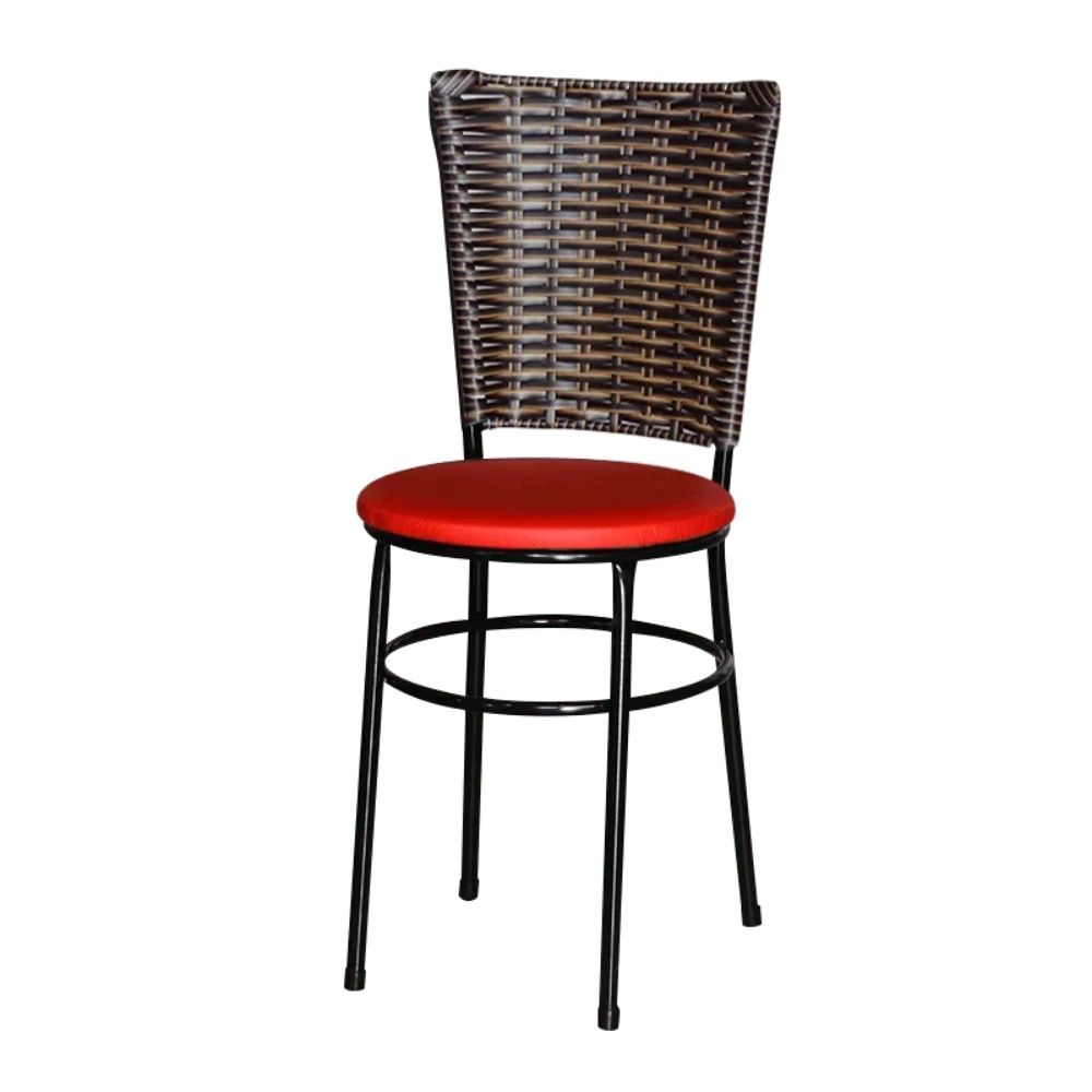 Cadeira Para Cozinha Preta Hawai Cappuccino
