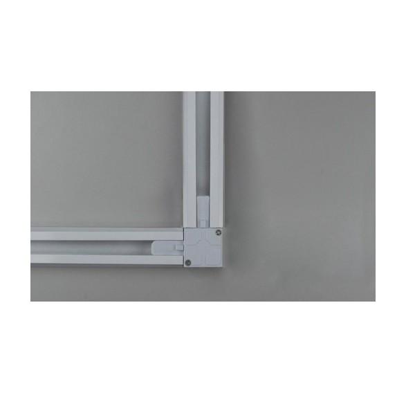 Conector Emenda L para Trilho Eletrificado Branco