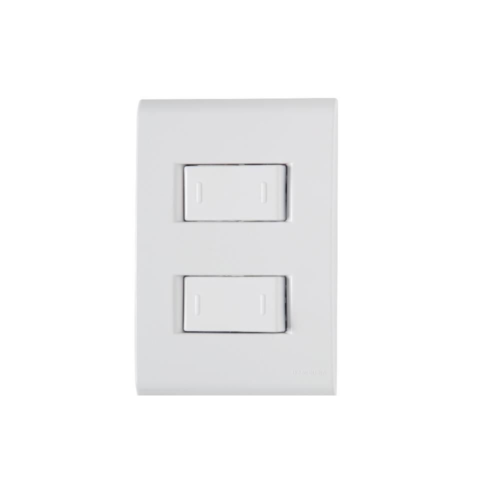 Conjunto 2 Interruptor Paralelo 10A 4x2 Tramontina Liz