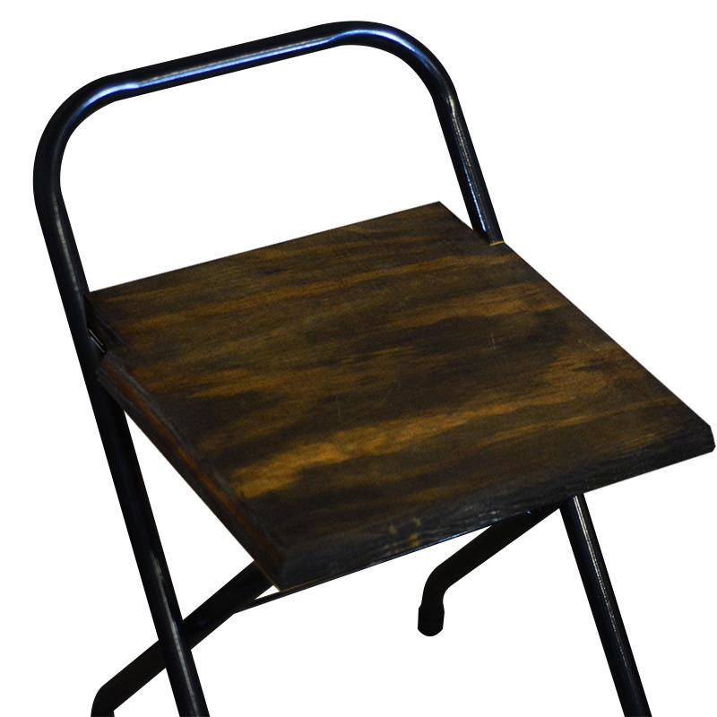 Conjunto 6 Cadeiras Dobrável em Madeira Imbuia