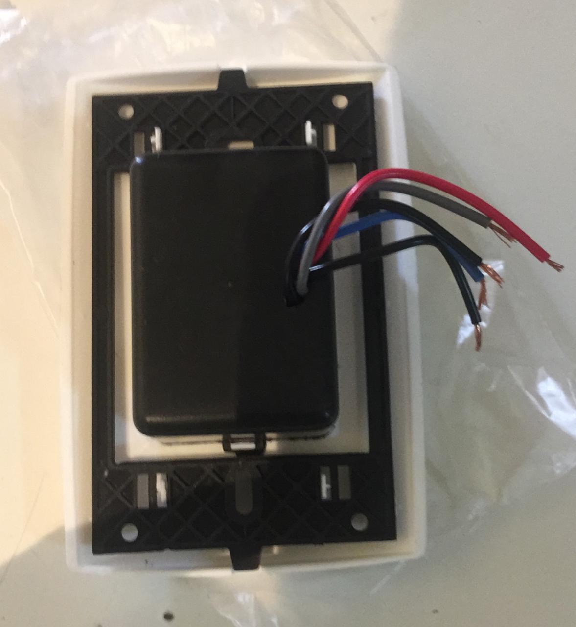 Controle Chave Deslizante para Ventilador Teto Bivolt