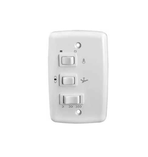 Controle Chave de Parede Para Ventilador Teto com Capacitor 220v