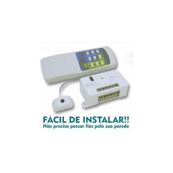 Controle Remoto Universal Wireless P/ Ventilador De Teto - Completo