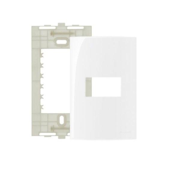 Espelho Placa 4x2 1 Posto Com Suporte Sleek MarGirius