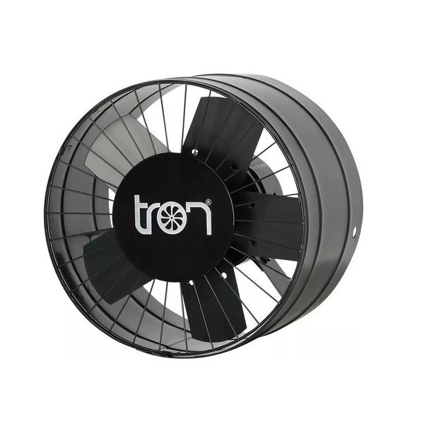 Ventilador Exaustor Tron Axial Residencial Industrial 30cm Grafite Bivolt