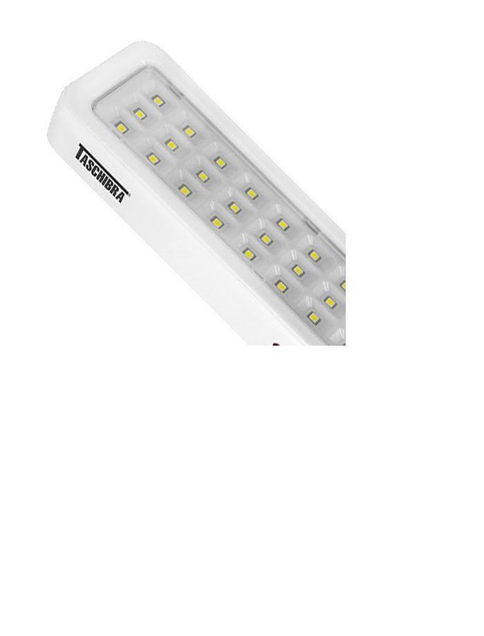 Kit 5 Luminária De Emergência Led Pratic Tle 06 Bivolt Taschibra
