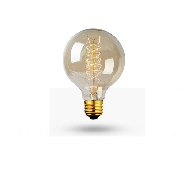 Lâmpada Filamento de Carbono G80 40w Retro Vintage