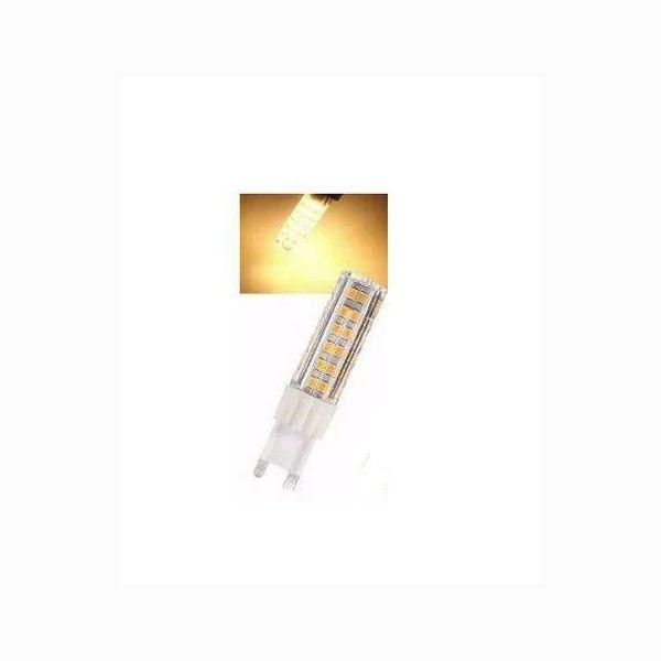Lâmpada Led Halopim G9 5w 3000k Branco Quente Bivolt