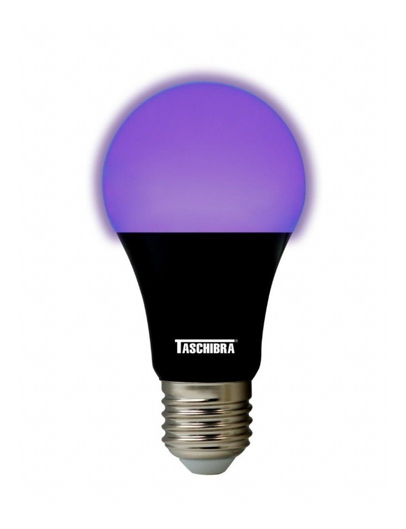 Lâmpada Led Luz Negra 7w E27 Bivolt Taschibra
