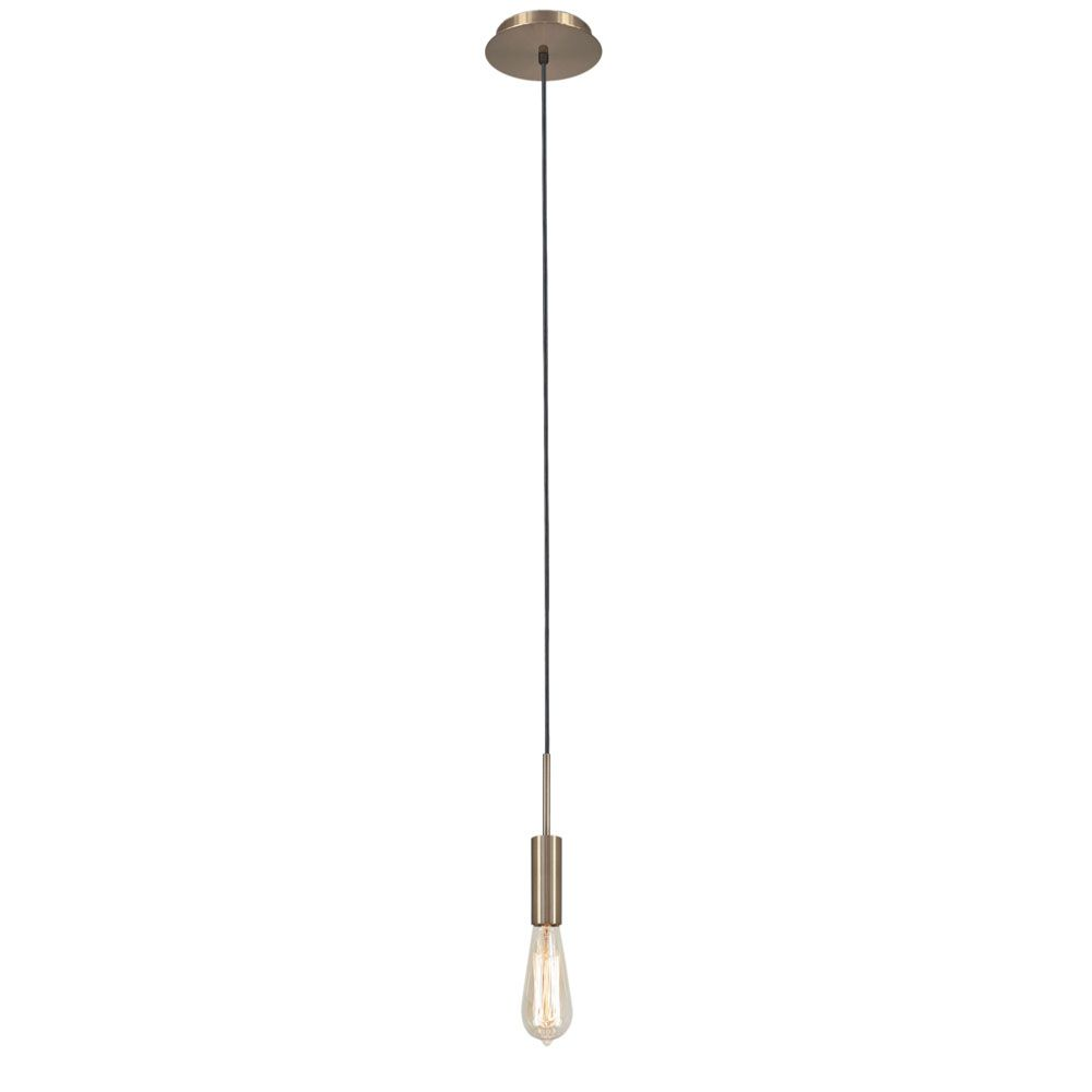 Pendente Infinite 14cm 1 Lâmpada E27 Acabamento Bronze