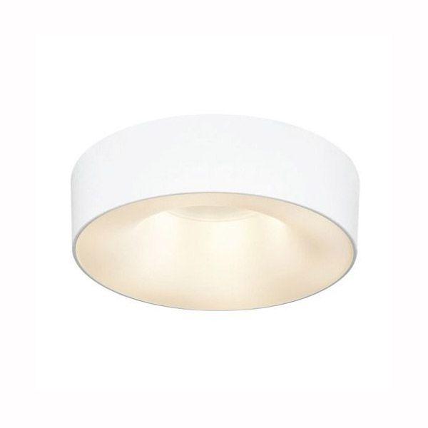 Luminária Plafon Sushi 53cm Branco 6 Lâmpadas Alumínio e Difusor Acrílico