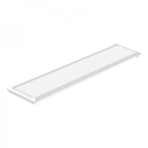 Luminária Retangular Slim Led 20w 6500k Bivolt Branca Taschibra