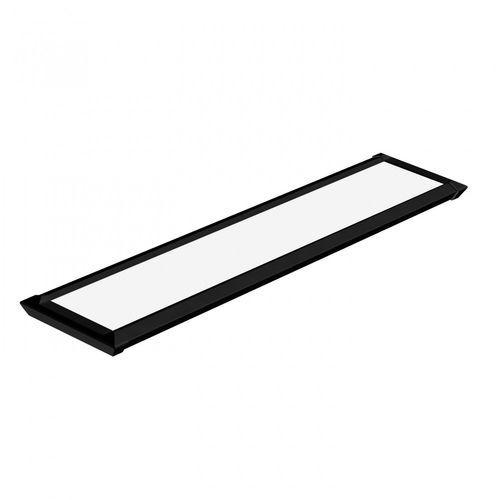 Luminária Retangular Slim Led 20w 6500k Bivolt Preta Taschibra