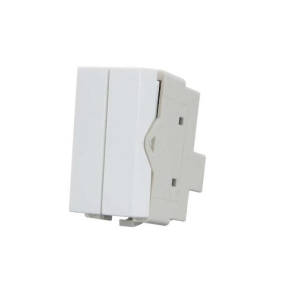Módulo Interruptor Duplo Simples 10A Sleek MarGirius