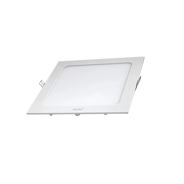 Painel Plafon Led 12w Embutir Quadrado Teto Branco Frio