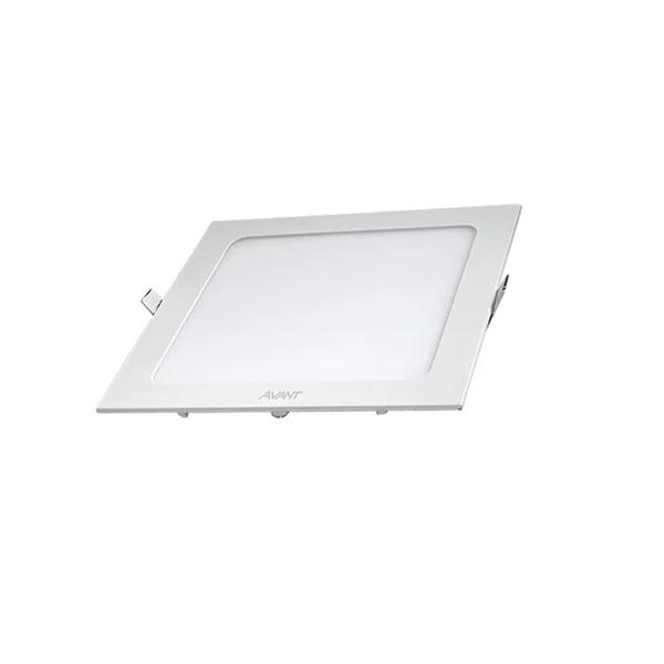 Painel Plafon Led 24w Embutir Quadrado Teto Branco Frio
