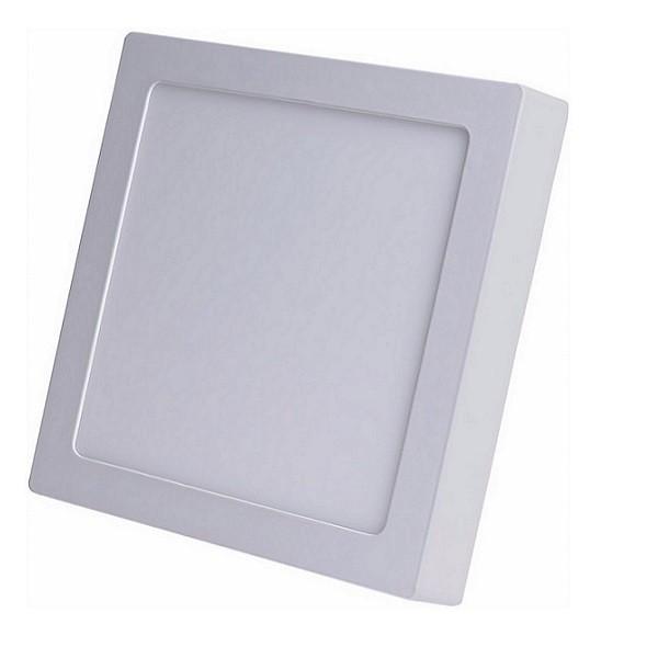 Painel Plafon Led 18w Sobrepor Quadrado Branco Frio Taschibra