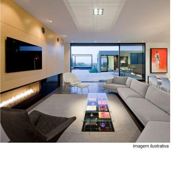 Plafon Spot Embutir Direcionável 4 Lâmpadas Dicroica Branco