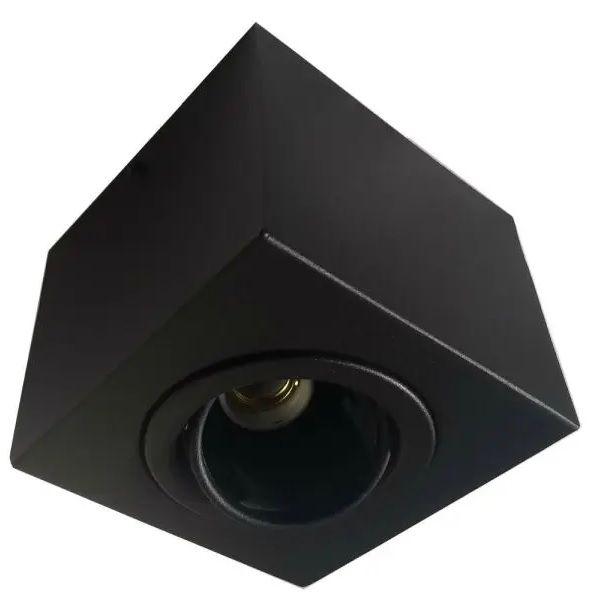Plafon Spot Sobrepor Direcionável 1 Lâmpada Par20 Preto RL