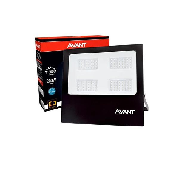 Refletor Led 200w Branco Frio 6500k Bivolt Avant