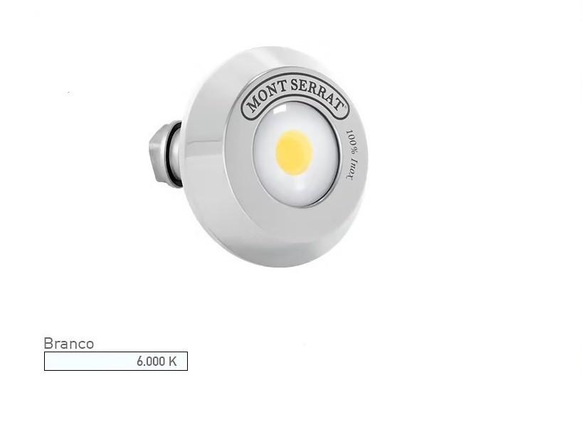 Refletor LED Para Piscina Alvenaria Redondo 10w 6000K Branco