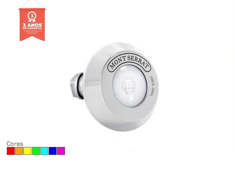 Refletor LED RGB 10w Redondo para Piscina de Alvenaria