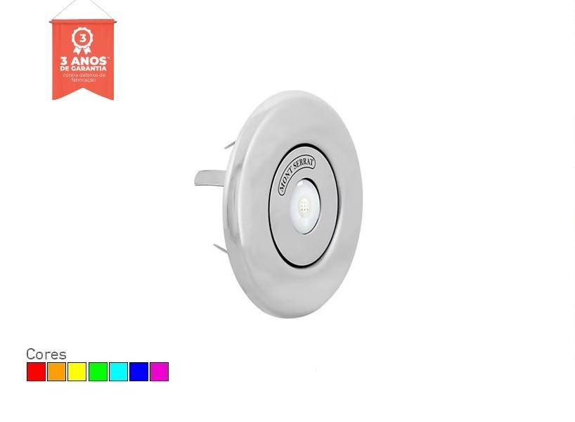 Refletor LED RGB para Piscina Redondo 10w Nicho