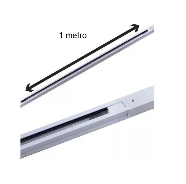 Trilho Eletrificado 1 Metro Bivolt Branco Para Spot