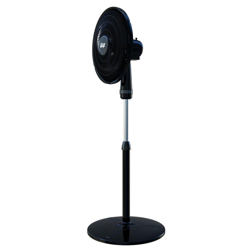 Ventilador de Coluna 50cm Rajada Turbo Wap - Preto