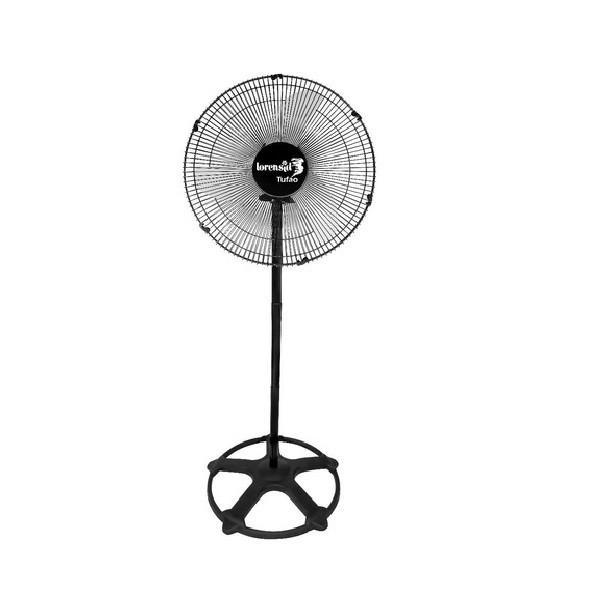 Ventilador de Coluna 60cm Tufão Max Preto Bivolt M2 Loren Sid