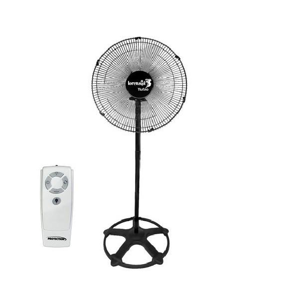 Ventilador de Coluna com Controle Remoto 60cm Tufão Loren Sid Preto Bivolt