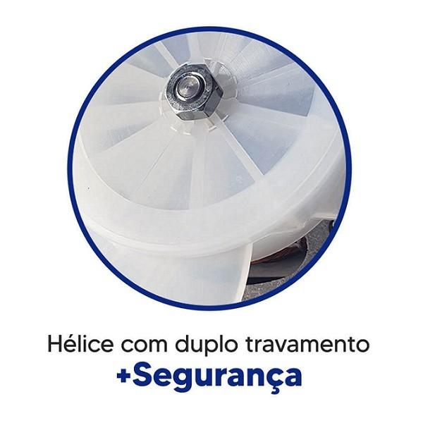 Ventilador De Parede 50cm Tex5 Preto 210w Bivolt Ventex