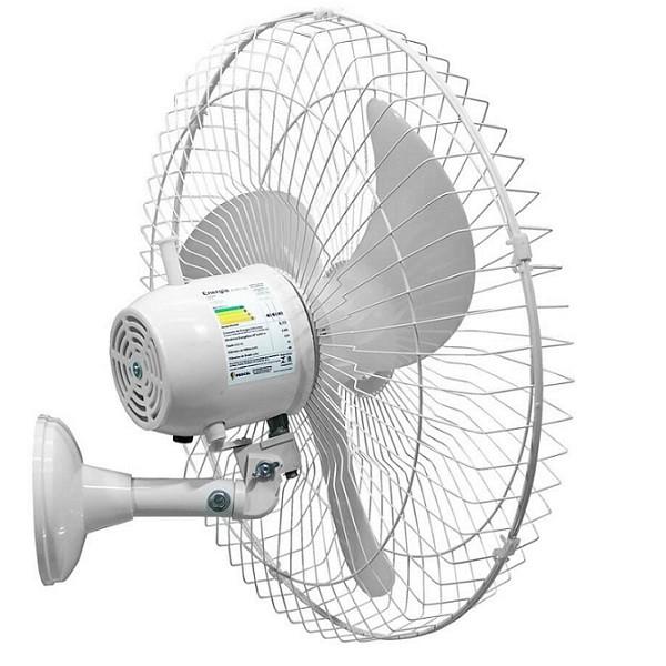 Ventilador De Parede 50cm com Controle Remoto Branco Tex5 Bivolt 210w Ventex