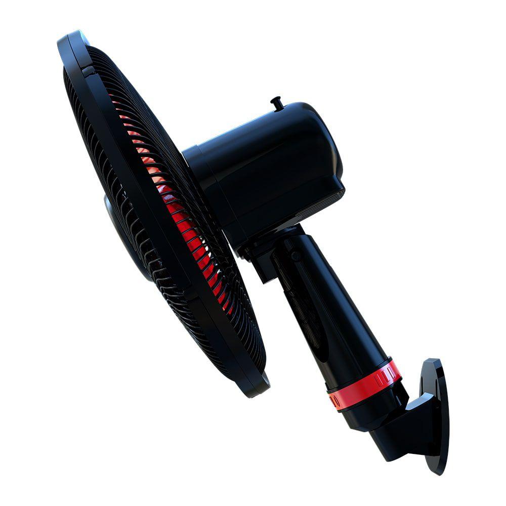 Ventilador de Parede 50cm Rajada Turbo Wap - Vermelho