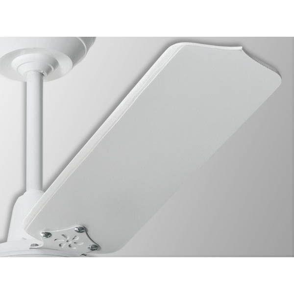 Ventilador De Teto 3 Lâmpadas Rubi Branco 3 Pás Brancas Loren Sid