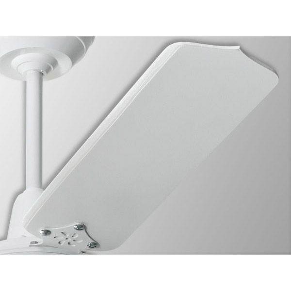 Ventilador De Teto com Controle Remoto 3 Lâmpadas Rubi Branco Loren Sid