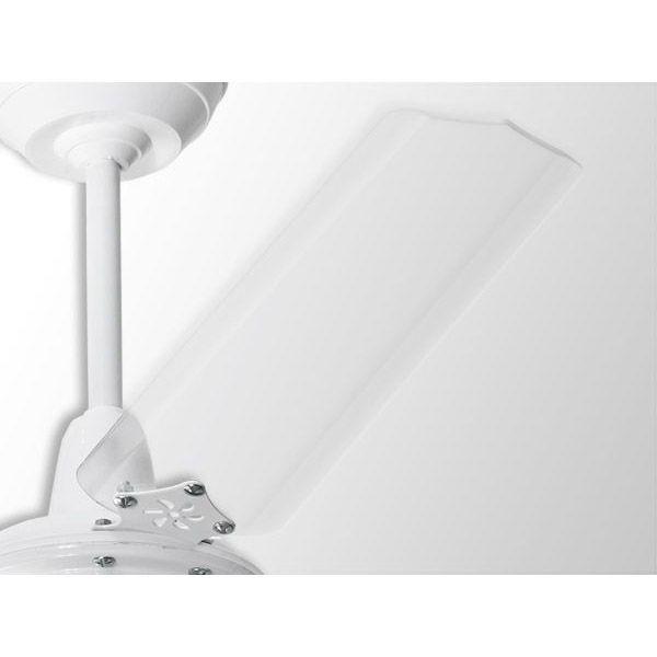 Ventilador De Teto Com Controle Remoto 3 Lâmpadas Rubi Branco Transparente Loren Sid