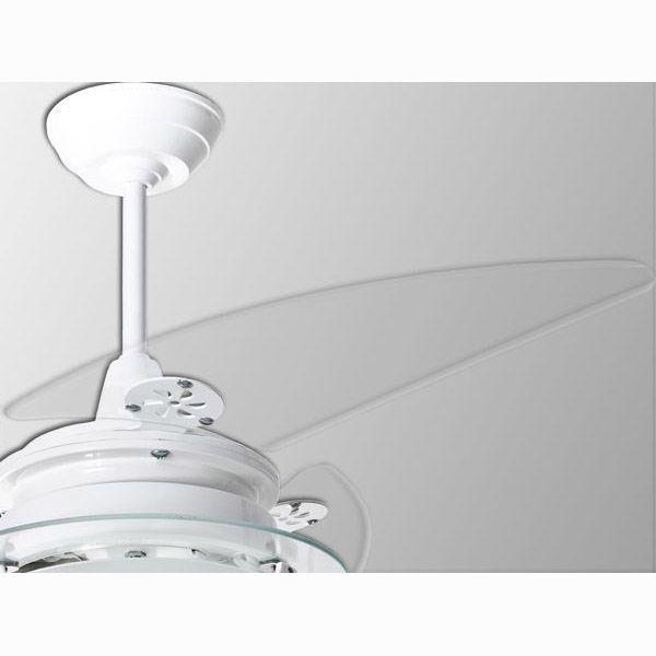 Ventilador de Teto com Controle Remoto Residence Branco 3 Pás Loren Sid