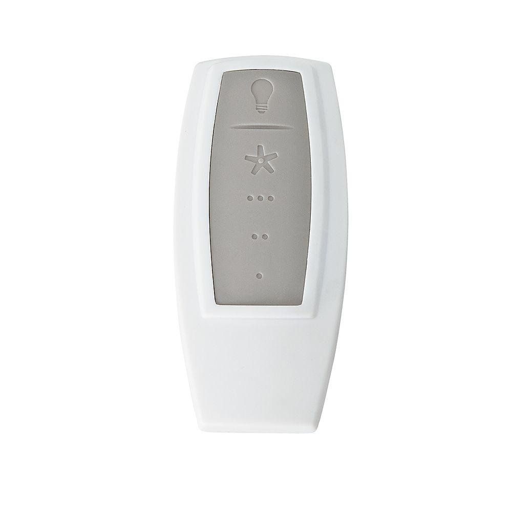 Ventilador de Teto Com Controle Remoto Hunter ORBit Níquel Escovado 5 pás