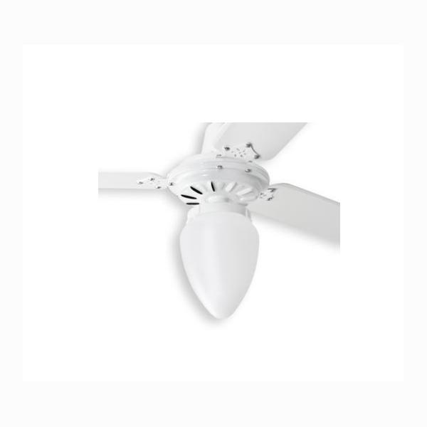 Ventilador de Teto Pera Loren Sid Branco Pás Brancas M3