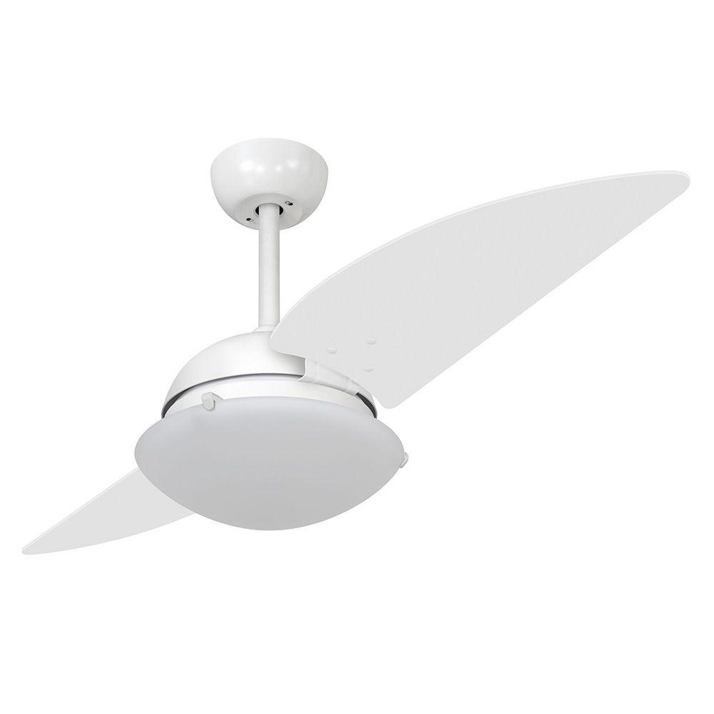 Ventilador de Teto Volare Branco Fosco VD300 Turbo 2 Pás Branco