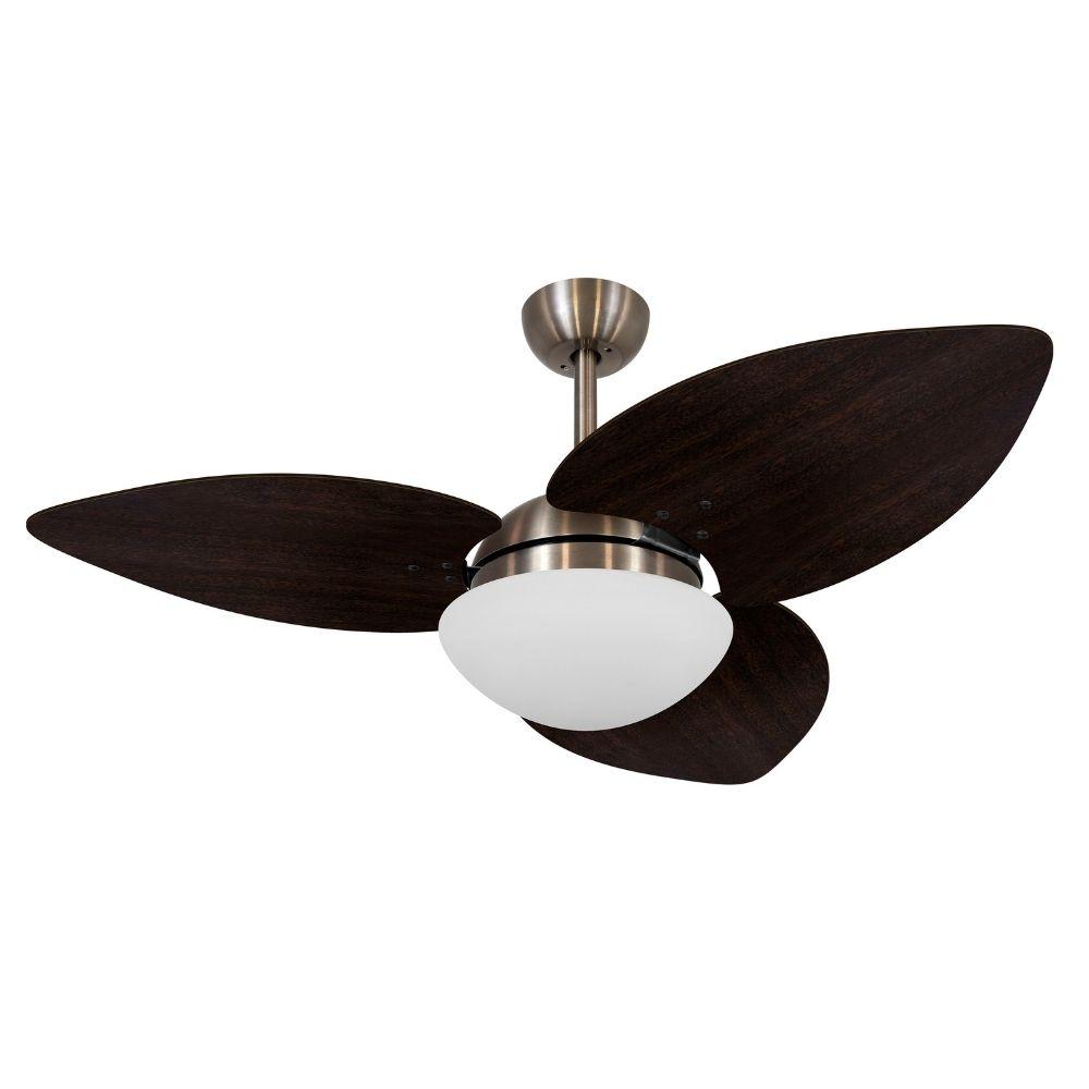 Ventilador de Teto Volare Bronze VD42 Dunamis S3 3 Pás Tabaco