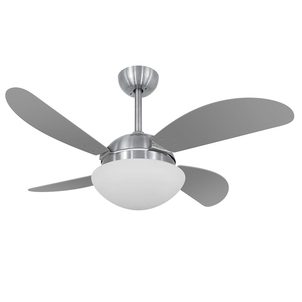 Ventilador de Teto Volare Escovado VD42 Fly 4 Pás Titânio