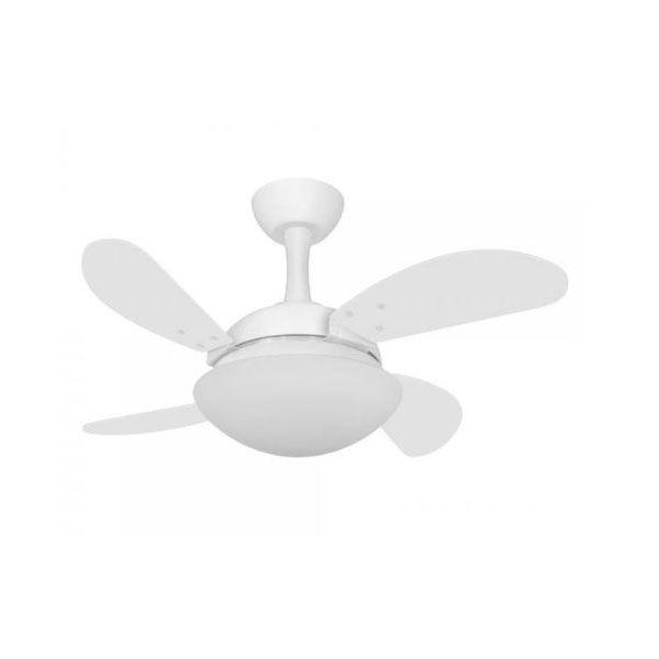 Ventilador de Teto Volare Ventax Due Mini Fly 4 Pás Branco