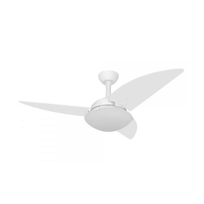 Ventilador de Teto Volare Ventax Uno 3 Pás Branco