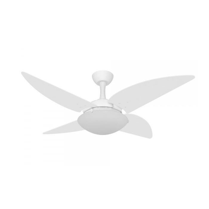 Ventilador de Teto Volare Ventax Uno 4 Pás Branco