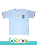 Camiseta Manga Curta Branca - Colégio Diáspora