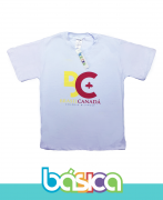 Camiseta Manga Curta Colégio Brasil Canadá