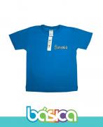 Camiseta Manga Curta Colorida - Colégio Savoia
