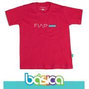Camiseta Manga Curta Magenta FIAP SCHOOL